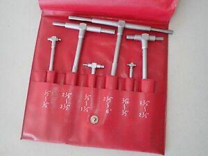 Mitutoyo 155-903 Telescopic Gauge Set 6 Piece