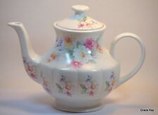 Arthur Wood & Son Staffordshire England Vintage Tea Pot with Lid Floral
