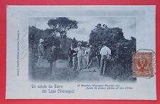 6897) Torre del Lago Viareggio  - viaggiata 1908 -