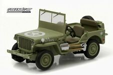 1944 JEEP C7 US Army - 1/43 scale model GREENLIGHT