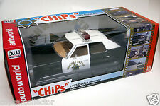 Ertl 1/18 CHP California Highway Patrol CHIPS Dodge Monaco Police Car AWS112