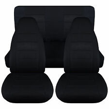 Jeep Cherokee Sport solid color  Front+Rear car seat covers, choose colors