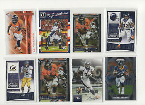 C.J. Anderson 2015-2017 Panini, Topps *Pick Your Card*  Denver Broncos
