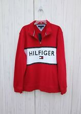 XXL MENS Tommy Hilfiger red white black casual SWEATSHIRT...