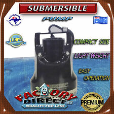Submersible pump dirty water tank pond garden and home