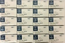 40 Boxes Business Source Paper Clips Jumbo 100box Bsn65639