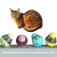 Funny Dog Cat Food Treat Ball Bowl Toy Pet Leakage Food Tumbler Interactive Toys