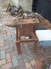 More details for blacksmiths anvil used antique