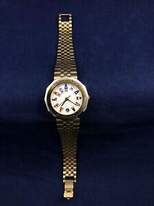 Corum Admirals Cup Ladies Watch Silver Gold Vintage Wristwatch