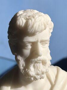 Vintage Resin Socrates Sculpture 1930's