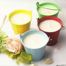 Repel Citronella Jar Candles Natural Soy Wax Colorful Tin Indoor/Outdoor Set 3
