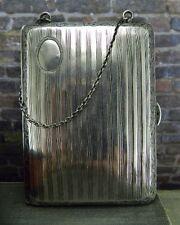 Antique/ Vintage Hallmark FP Sterling Silver Calling Card Case