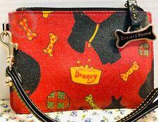 *Dooney & Bourke* Red Scottie Dog* Wristlet* 19114Q S134B