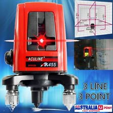 AK455 5mw 360 Degree Self-leveling Cross Laser Level 3 Line 3 Point Horizontal