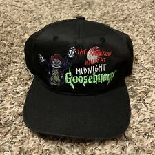 Vintage 90s Goosebumps The Scarecrow Walks At Night Snapback Hat Youth Kids