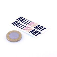 Mitsubishi Ralliart Sticker Car Vinyl Decals 50mm x2 JDM Drift Tuning Lancer Evo