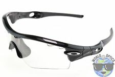 Oakley Radar Path Sunlasses OO9051-04 Polished Black w/ Photochromic Vented Lens