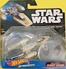 Hot Wheels 2017 Diecast Star Wars Starships Y-WING FIGHTER GOLD LEADER DXX54