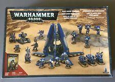 Warhammer 40k Space Marine Spearhead Box 2008 OOP All Metal Games Workshop Army