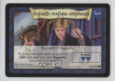 2001 Harry Potter Trading Card Game #78 Borrowed Wand Gaming 0b0