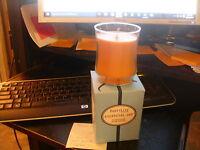 Partylite PEACH NECTAR ESSENTIAL Jar Candle  NIB