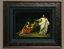 Jesus Christ Mary Magdalene Bible Picture Photo (8X10) Print Old Antique Vintage