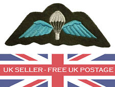 Para Wings Parawings Airborne Parachute Badge Patch Fabric Military Army RAF Air