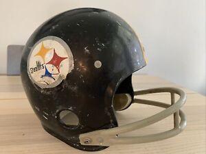 Vintage Rawlings NFL Pittsburgh Steelers Helmet Size Small