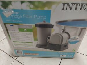 Intex 28633EG 2500 GPH For Above Ground  Pools Cartridge Filter Pump