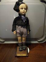 "Antique Lenci Doll 17"" Boy Fascist Costume"