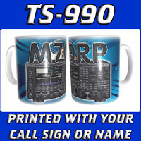TS-990 TS990 CALL SIGN & RADIO HAM AMATEUR RADIO PERSONALISED