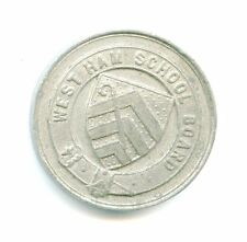 West Ham School Board Attendance Award à F Samways 1898