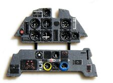 MESSERSCHMITT Bf-109 E COLORED, PE, 3D INSTRUMENT PANEL TO AIRFIX #2408 YAHU