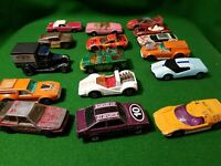 Job-lot Of 16 Vintage LESNEY Matchbox 1970s 80s cars rare diecast superfast