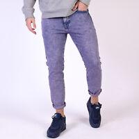 Levi's 512 Tapered leg Sidewalk Violet Herren Lila Jeans W34 L30 34/30