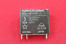 Potter & Brumfield - RKA-7DZ-12 12VDC Relay - 5A, 250V, DPST NO