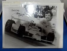 JOHNNY RUTHERFORD SIGNED AUTOGRAPHED 8X10 PHOTO WITH CERTIFICATE OF AUTHENTICITY