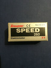 Graupner Speed 260 3V Electric Motor (6376) (G6376)