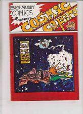Cosmic Capers #1 FN big muddy comics weird underground comix JESUS VS GODZILLA?!