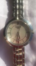 Tissot Flamingo Madreperla Quadrante Acciaio Inossidabile Ladies Watch T094210 un