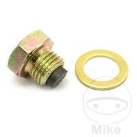 Triumph Bonneville 865 EFI T100 Magnetic Oil Drain Sump Plug Bolt
