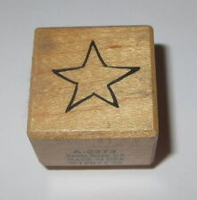 STAR Rubber Stamp PSX Celestial Sky A-2273 Wood Mounted USA Made 1""
