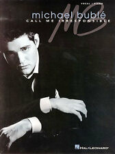 Michael Buble Call Me Irresponsible Sing Lost Dream Pop Vocal Piano Music Book