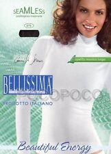 MAGLIA LUPETTO DONNA MANICA LUNGA MICROFIBRA BELLISSIMA ART. 075