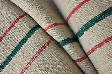 Grain sack grainsack fabric old Antique linen Hemp Christmas fabric material