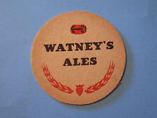 Vintage Beer COASTER: Watney's Red Barrel ~*~ Formerly Sleeman Brewing & Malting