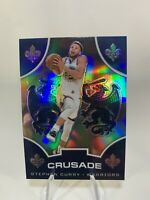 2019-20 Panini Chronicles Crusade Stephen Curry Silver Prizm Warriors