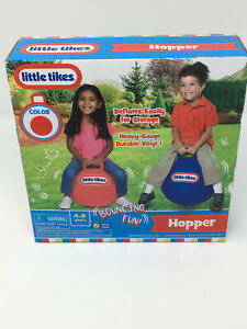 Little Tikes Vinyl Bouncing Hopper Ball with Handle - Red