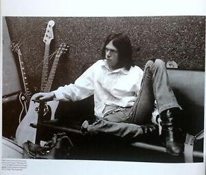 NEIL YOUNG - Classic Black & White Mini-Poster / Magazine Picture - RARE