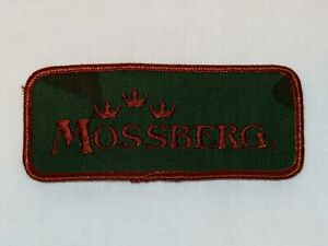 Mossberg Firearms Embroidered Patch Gun Patch Green/Brown NOS